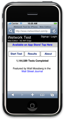 Inetwork-test-iphone-web-edition